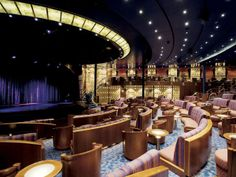 cruises ship theater | Theater on the Seven Seas Navigator .