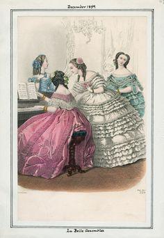 La Belle Assemblee December 1859 LAPL