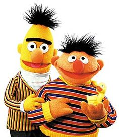Beto y Enrique Bert And Ernie Costume, Bert & Ernie, Harry Potter Disney, Sesame Street Muppets, Sesame Street Party, Fraggle Rock, Kermit The Frog, Jim Henson, Cultura Pop
