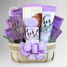 Fields of Lavender Spa Gift Basket | World Market