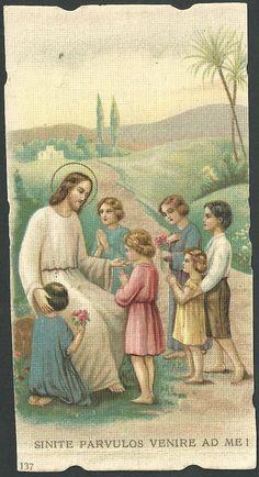 Estampa antigua de Jesus andachtsbild santino holy card santini | eBay