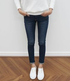 Every girl has got to have a pair of white kicks!