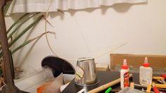自作楽器研究所|Homemade Instruments: バケツ・ビリンバウをもうちょっと改造;Bucket Berimbau|自作ビリンバウ