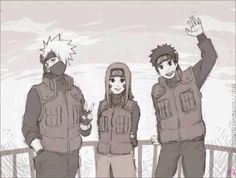 They would be the best team :) Kakashi and his team