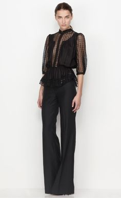 I know this is pants ... but it's pretty enough to wear wherever you'd wear an LBD