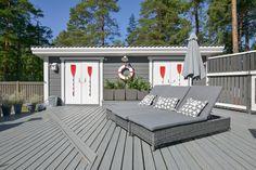 Etuovi.com beach style house Kirkkonummi