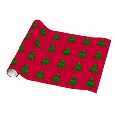 Christmas Tree Art Wrapping Paper #Christmas #tree #art #wrapping #paper And www.zazzle.com/tickleyourfunnybone*
