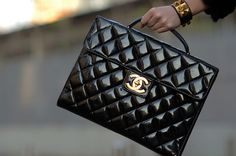 Style is Style ... Chanel Quilted Black Patent <3<3