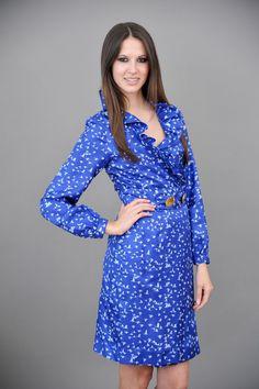 ELIZABETH MCKAY: Scotland Dress-Bluebirds