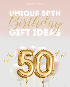 50 Rocks! Unique 50th Birthday Gift Ideas for Men and Women