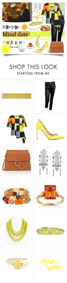 """""""Blind Date"""" by jeneric2015 ❤ liked on Polyvore featuring WALL, Junya Watanabe, Marni, Valentino, Chloé, Chico's, Annello, BaubleBar and blinddate"""
