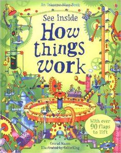 See Inside How Things Work (Usborne See Inside): Conrad Mason, Colin King: 9780746098516: Amazon.com: Books