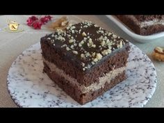 ReteteAngela: Prajitura cu nuca Romanian Food, Romanian Recipes, Christmas 2019, Food Videos, Tiramisu, Make It Yourself, Cooking, Ethnic Recipes, Sweet