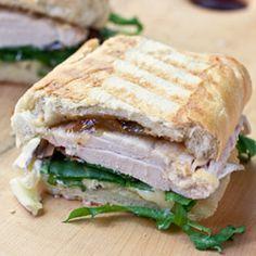 Roast beef,cheddar, and horseradish panini | Sandwich Ideas ...