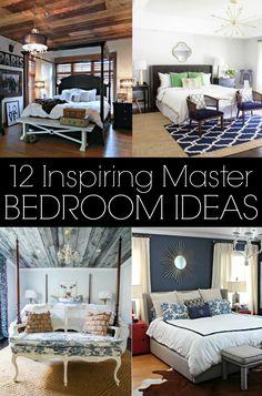 12 Inspiring Master Bedrooms