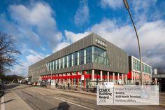 """✨  Finaliste #CEMEXBuildingAward2016 : #Bâtiment """"@AUDI North Terminal"""" à #Hambourg en #Allemagne (Wolff & Müller). [Image : © Auto Wichert]  ✨   •••••••••••••••••••••••••••••••••••••  #maison #rénovation #décoration #architecture #jardin #habitat #réaménagement #gravier #grave #BTP #industrie #Travaux #design #Construction #granulats #bétons #bricolage #amazing"""