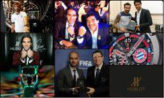Día del Futbolista. Hublot va a ser sponsor oficial en el Mundial Brasil ´14, y a lo largo de estos últimos años se ha interiorizado en el mundo del fútbol.