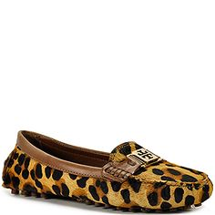 Affordable leopard driving moccasins