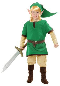 Toddler Elf Warrior Costume