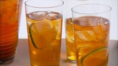 Weeknight Special! Spiced Thyme and Lime Iced Tea