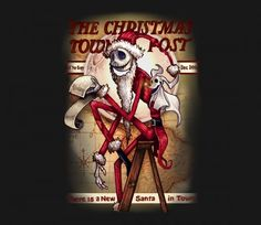 WhAt'S ThIs?!?  Simple throwback mash-up tribute to one of my favorite artists of all time, Norman Rockwell. No one ever captures Christmas quite like him. @teefury