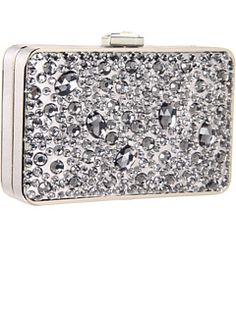Love! Love! Love! Kate Landry Social Floral Crystal Clutch Rose ...
