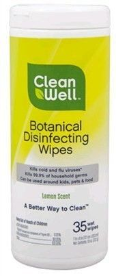 CleanWell Botanical Disinfecting Wipes Disinfecting Wipes, Organic Cleaning Products, Spring Cleaning, Ants, Deodorant, Cleaning Supplies, Plant Based, Ant, Cleaning Agent