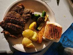 Cobb steak and veggies South Africa, Steak, Bbq, Tasty, Vegetables, Food, Barbecue, Barrel Smoker, Essen