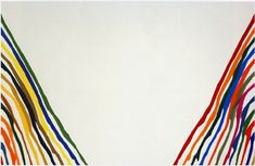 morris louis - Beta Lambda - 1961