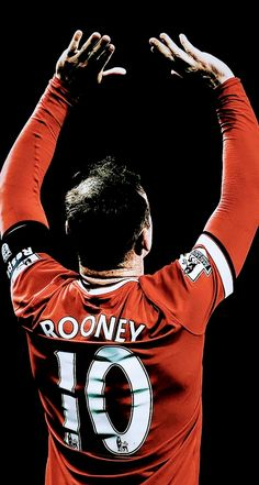 Wayne Rooney, Manchester United FC Manchester United Rooney, Manchester United Wallpaper, Manchester United Legends, Manchester United Players, Bayern Munich Wallpapers, Cristiano Ronaldo Portugal, Arte Hip Hop, Soccer Art, Messi And Ronaldo