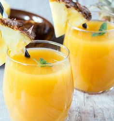 Quick Fix: Pineapple Juice For Dry Cough. Studies show that pineapple juice is five times more effective in reducing mucus than common cough suppressants available in the market.