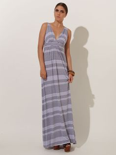 Striped Maxi Dress..easy and breezy