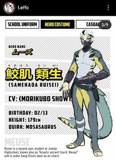My Hero Academia, Hero Academia Characters, Superhero Design, Hero Costumes, Fantasy Story, Video Game Characters, New Students, Character Design, Character Ideas