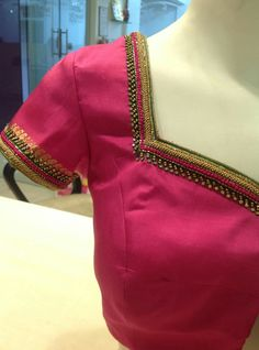 Best Blouse Designs, Simple Blouse Designs, Blouse Back Neck Designs, Bridal Blouse Designs, Pattu Saree Blouse Designs, Maggam Work Designs, Hand Work Blouse Design, Embroidery Neck Designs, Designer Blouse Patterns