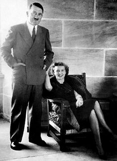 Hitler and Eva Braun, 1943, - Rare Photos of Adolf Hitler  Page 2 of 2  Best of Web Shrine