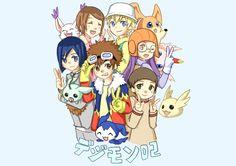 Digimon Adventure 02, Digimon Digital Monsters, Braveheart, Digital Wall, The Past, Pokemon, Fan Art, Pixiv, Random Things