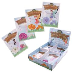 Flower Fairy Seeds for Childrens Kids Garden Gift Party in Garden & Patio, Plants/ Seeds/ Bulbs, Other Plants/ Seeds/ Bulbs Seed Packets, Garden Gifts, Party Bags, Planting Seeds, Garden Planning, Fun To Be One, Cool Toys, Packaging Design, Children