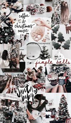 wallpaperschristmas wallpapers insta's: & christmasphonewallpaper trendy aesthetic christmas wallpaper collage Christmas wallpaper aesthetic collage Ideas for 2019 Fabulous Wallpaper Backgrounds For Christmas & New Year