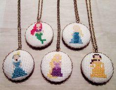 Elsa Princess Necklace Disney Fan Gift