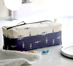 adapted box bag from