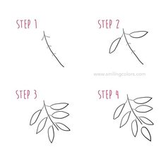 drawing step by step Tutorial, start doodling today! Leaf drawing step by step Tutorial, start doodling today!Leaf drawing step by step Tutorial, start doodling today! Easy Flower Drawings, Flower Drawing Tutorials, Drawing Tips, Easy Drawings, Drawing Techniques, Drawing Ideas, Leaf Drawing Easy, Drawing Art, Easy Nature Drawings