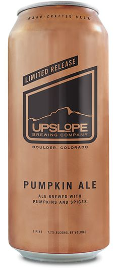 My fav in the pumpkin category ~ Upslope Brewing Company -Pumpkin-Ale
