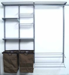 Triton Storability 66W x 63H in. Garment Wall Storage System