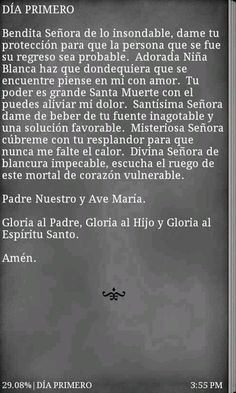 Santa Muerte prayer