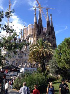 Barcellona La Sagrada Familia