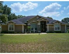Gorgeous brick & stucco home in Weirsdale, #Florida
