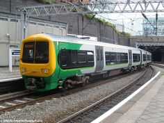 London Midland Class 323 at Birmingham New Street.