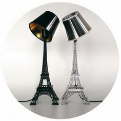 we need these! @Destini Hill and I saw eiffel tower night stands!!!