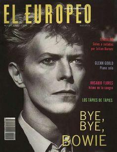 David Bowie covers El Europeo, June 1990.