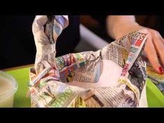 «Ручная работа». Курочка в технике папье-маше (15.04.2015) - YouTube